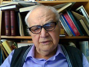 Vičeslavas Ivanovas (1929-2017)   philologist.livejournal.com nuotr.