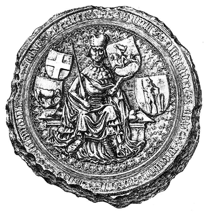 3. Vytauto Didžiojo Didysis antspaudas | Wikipedia.orgnuotr.