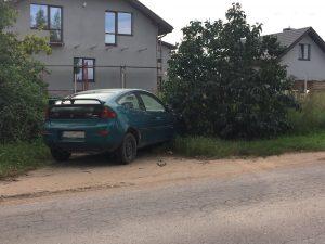 Automobilis prie namų | VšĮ Aplinkos apsaugos instituto nuotr.