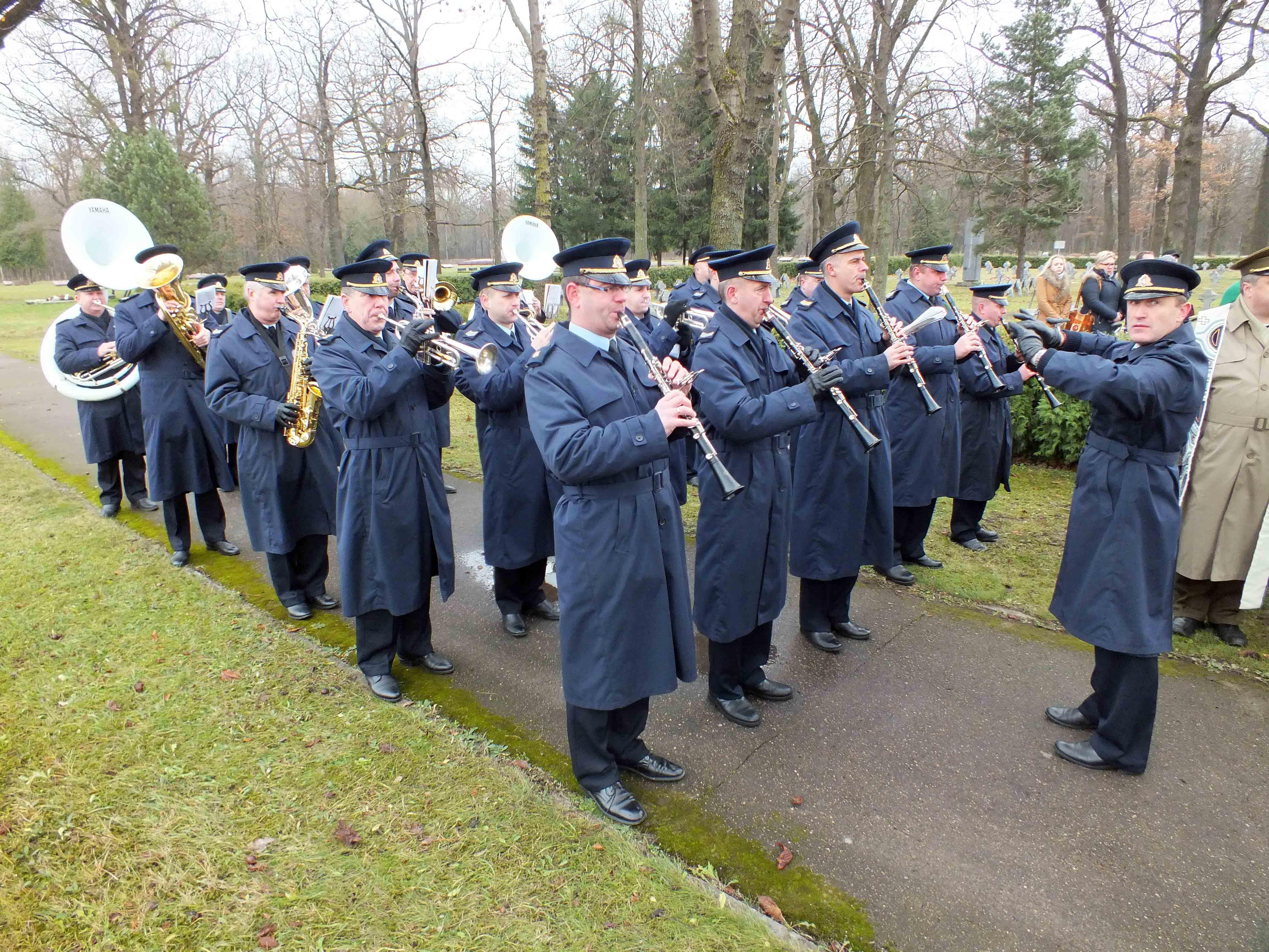 Karinių oro pajėgų orkestras | P. Šimkavičiaus nuotr.