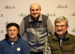 Gintaras Kaltenis, Gerimantas Statinis ir Gintautas Babravičius | Alkas.lt nuotr.