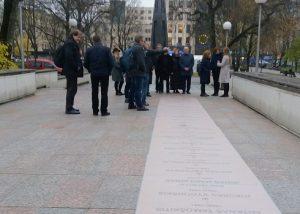 Laisvės kovų paminklo projektas | Gyventojų genocido ir rezistencijos tyrimo centro nuotr.