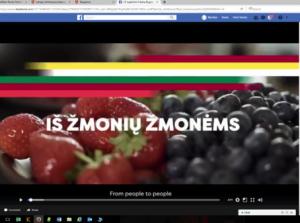 Latvijos sveikinimas – filmas | lv.mfa.lt nuotr.
