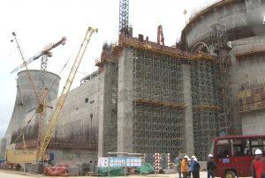 Astravo atominė elektrinė – pavojingas statinys prie pat Lietuvos sienos | LRT.lt nuotr.