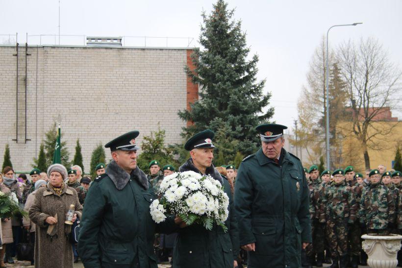 Iškilmingai paminėtos Lietuvos partizanų vado Adolfo Ramanausko-Vanago 60 – osios žūties metinės | Lazdijai.lt nuotr.