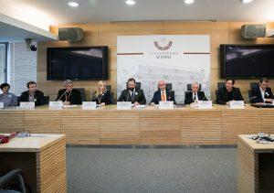 Seimo ir PLB komisijos spaudos konferencija | LRS nuotr.
