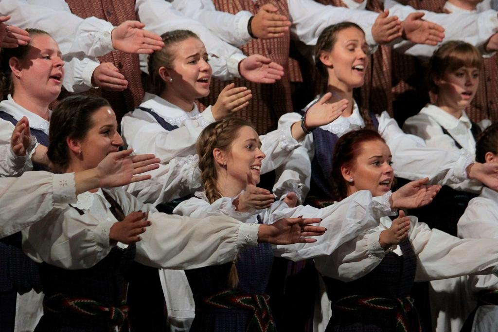 Studentų chorų šventė | LNKC nuotr.