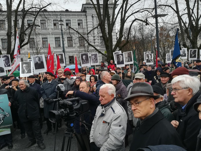 Visuomenininkų mitingas dėl Vyčio | Alkas.lt, J. Vaiškūno nuotr.