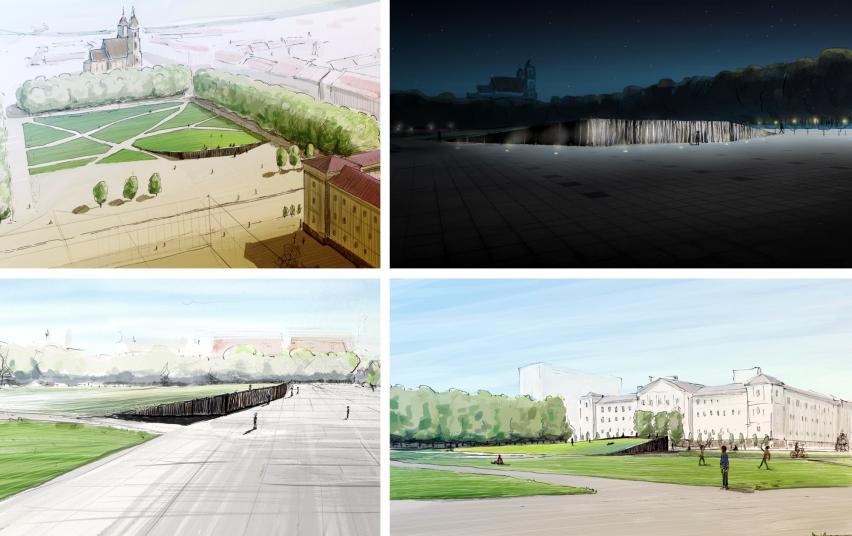A. Labašausko partizanų bunkerio motyvais projektuotas memorialas | lrv.lt nuotr.