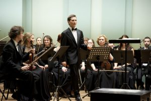 Dirigentas Modestas Barkauskas | Kauno miesto simfoninio orkestro nuotr.
