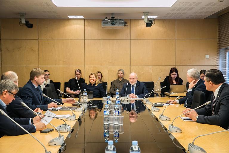 Seimo Liberalų sąjūdžio frakcija susitiko su kultūros ministre Liana Ruokyte-Jonson | lrs.lt nuotr