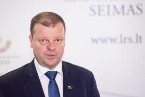 Ministras pirmininkas Saulius Skvernelis | lrs.lt nuotr.