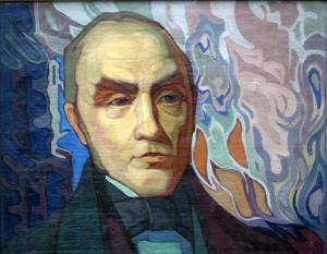 Simonas Daukantas. Dail. A. Varnas. 1937 m. | Maironio Lietuvių iteratūros muziejaus nuotr.