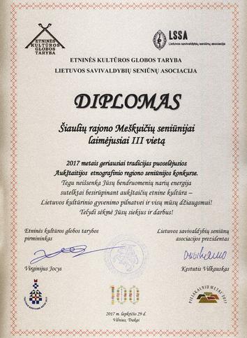 Meškuičių seniūnija – etnografinių regionų konkurso laureatė | A. Šalavėjienės nuotr.