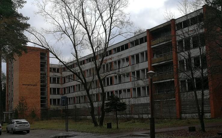Valstybės Turto fondui priklausantys pastatai vaiduokliai | R. Garuolio nuotr.