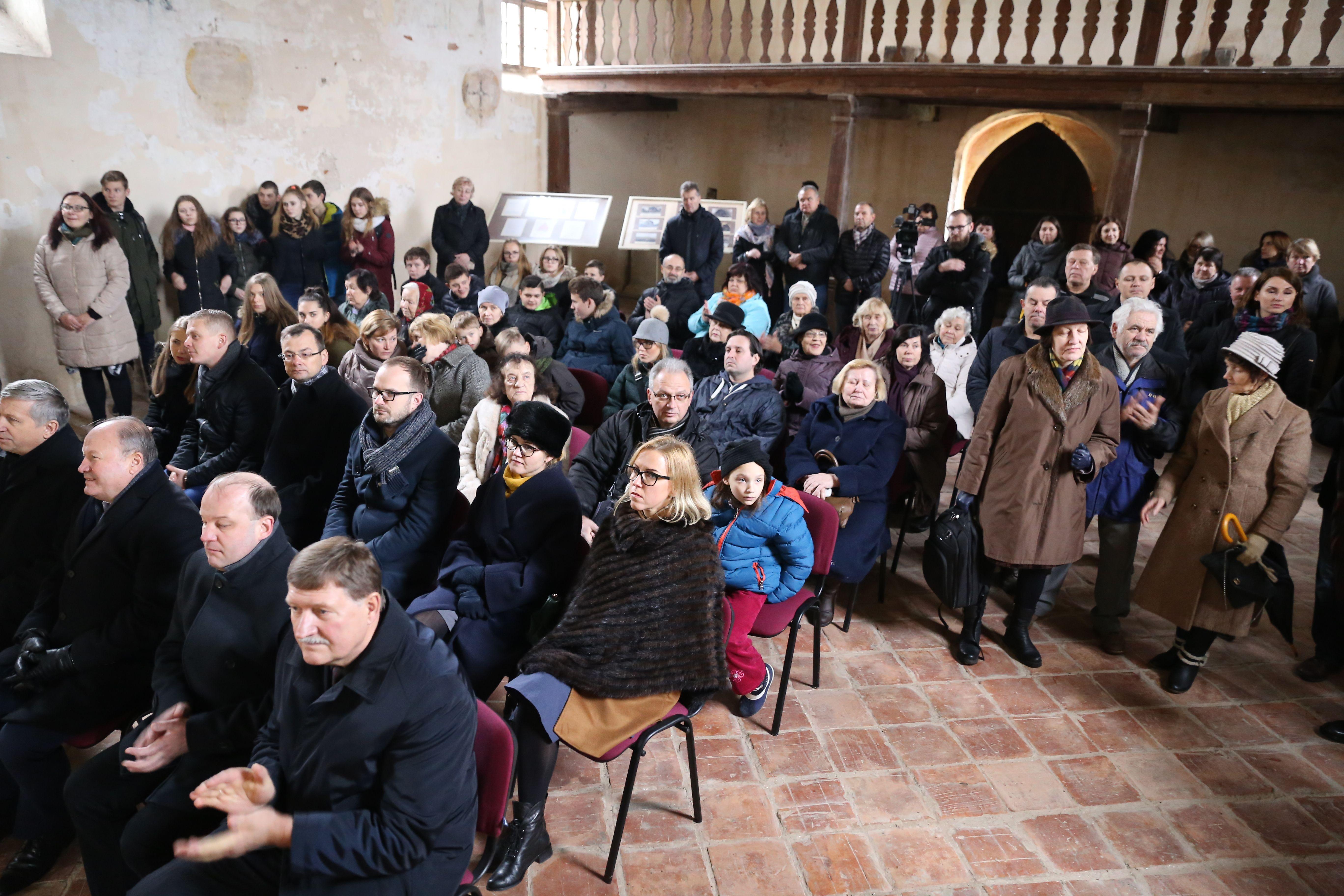 Zapyškio Šv. Jono Krikštytojo bažnyčios tvarkymo darbai prasidėjo skambant J. S. Bacho muzikai   Kauno rajono savivaldybės nuotr.