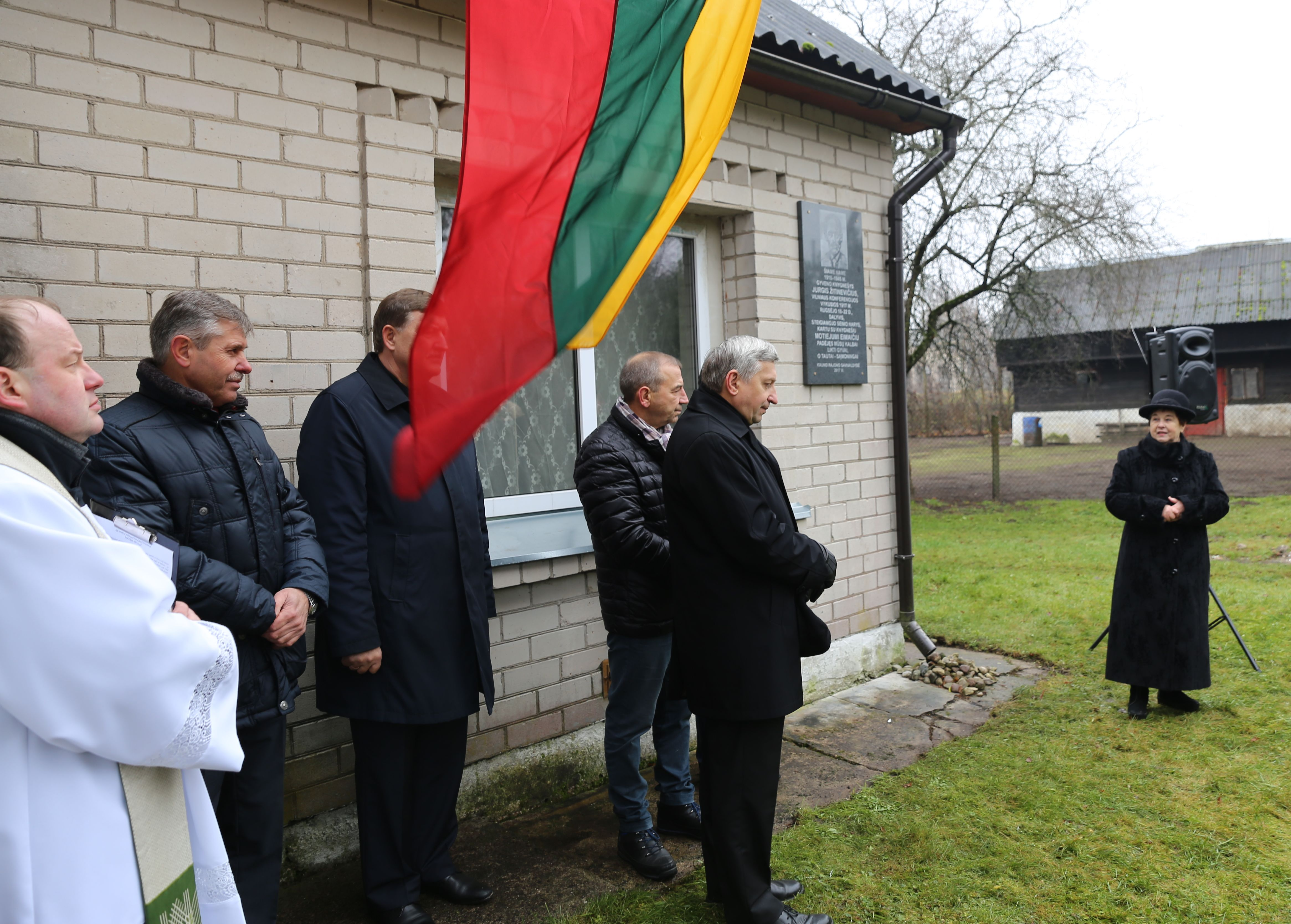 Pagerbtas Steigiamojo seimo nario J. Žitinevičiaus atminimas   Kauno rajono savivaldybės nuotr.