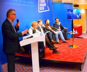 Laisvosios Rusijos forumas | Aleksandro Karpovo , nuotr.