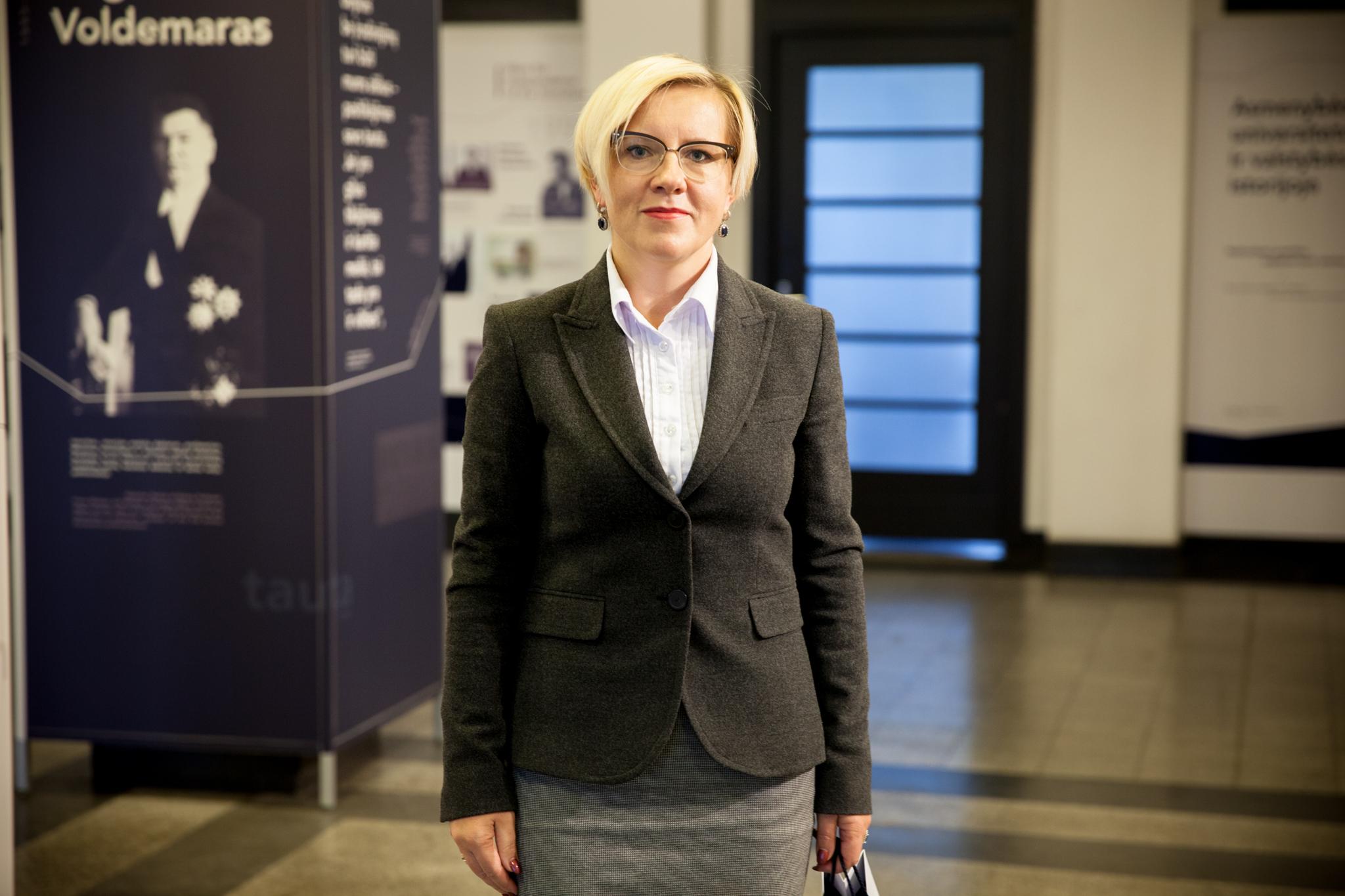 KTU Panevėžio technologijų ir verslo fakulteto dekanė Daiva Žostautienė | KTU nuotr.