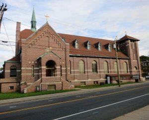 Šv. Andriejaus bažnyčia Niu Britene | genocid.lt nuotr.