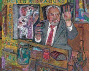 V. Vizgirdos tapytas paveikslas