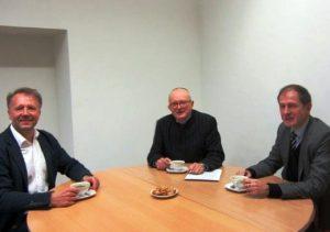 VLKK pirmininkas A. Antanaitis lankėsi Valstybinės kalbos inspekcijoje | vki.lrv.lt nuotr.