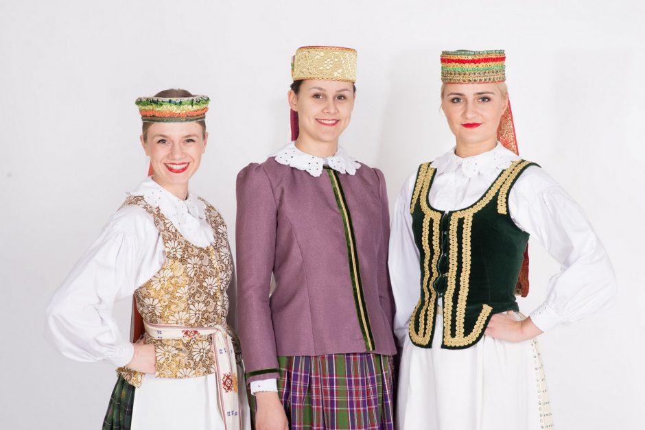 Aukštaičių tautiniai drabužiai | KTU nuotr.