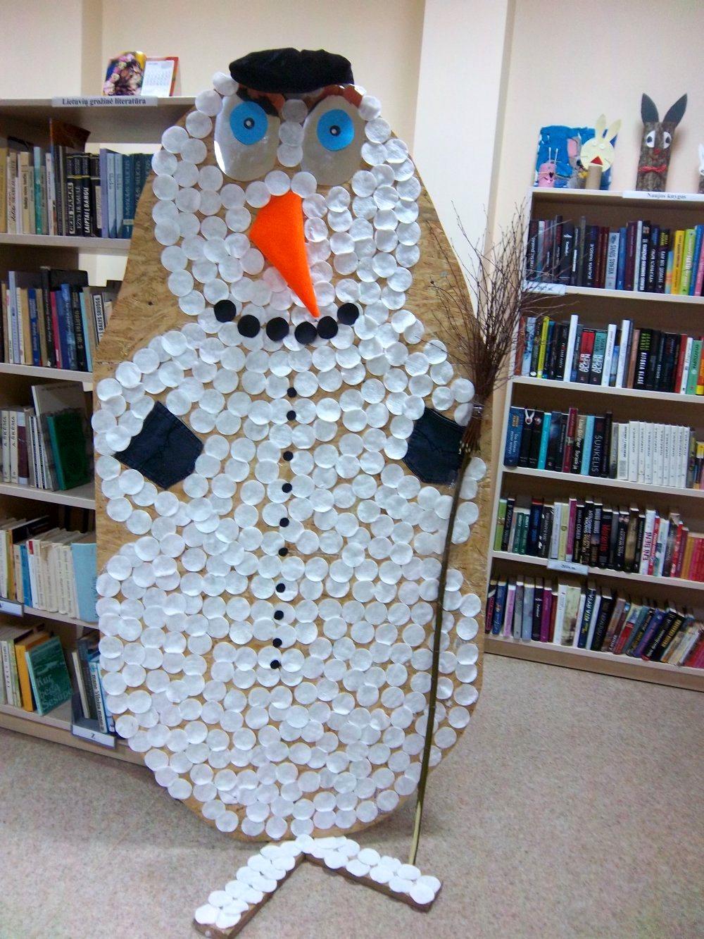 Žiemos švenčių belaukiant | Zarasų viešosios bibliotekos nuotr.