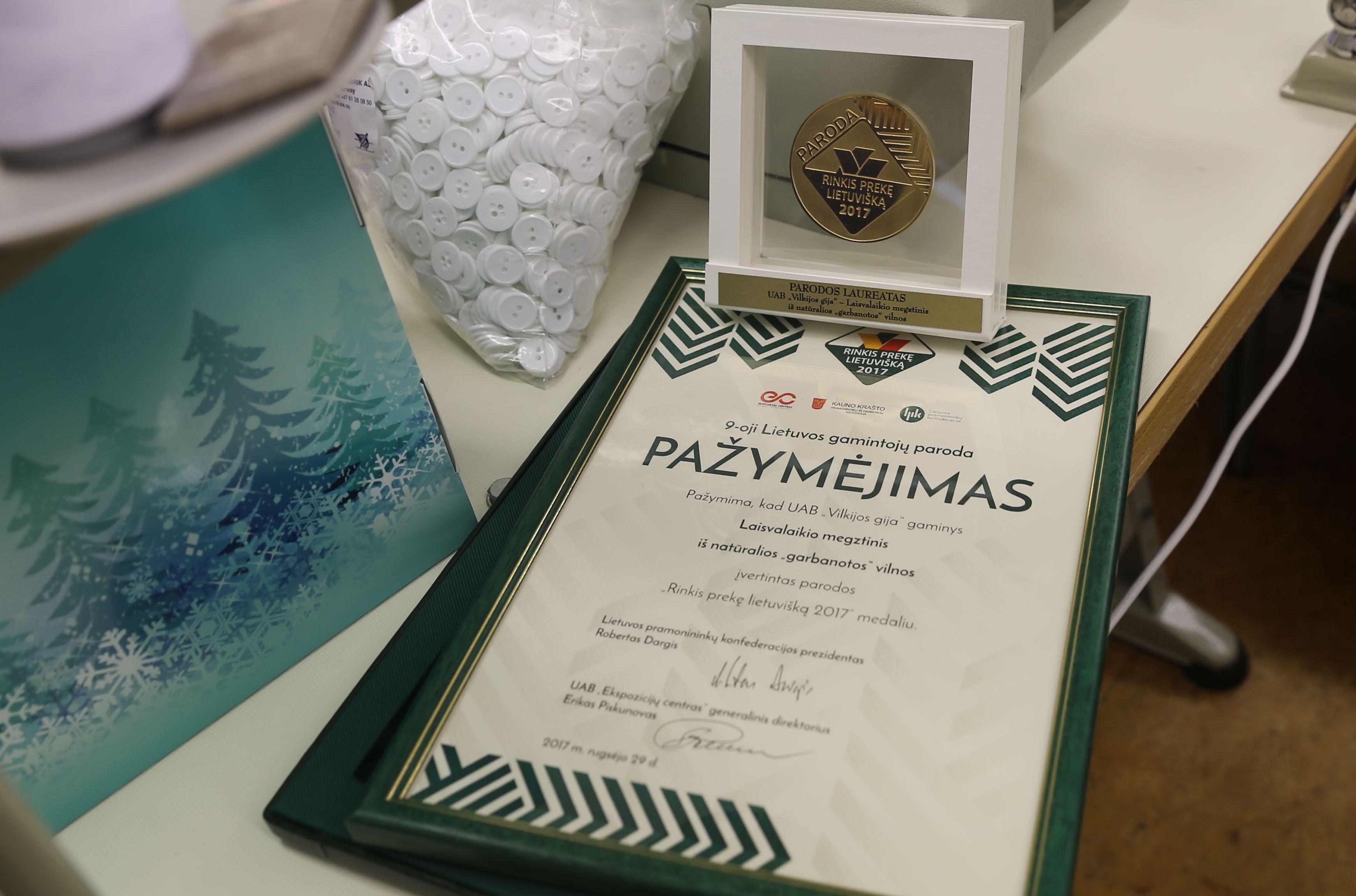 Trims pakaunės įmonėms – aukso medaliai | Kauno rajono savivaldybės nuotr.