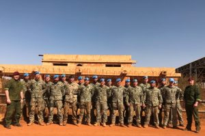 KASP vadovybė aplankė operacijoje Malyje tarnaujančius Lietuvos karius | KAM nuotr.