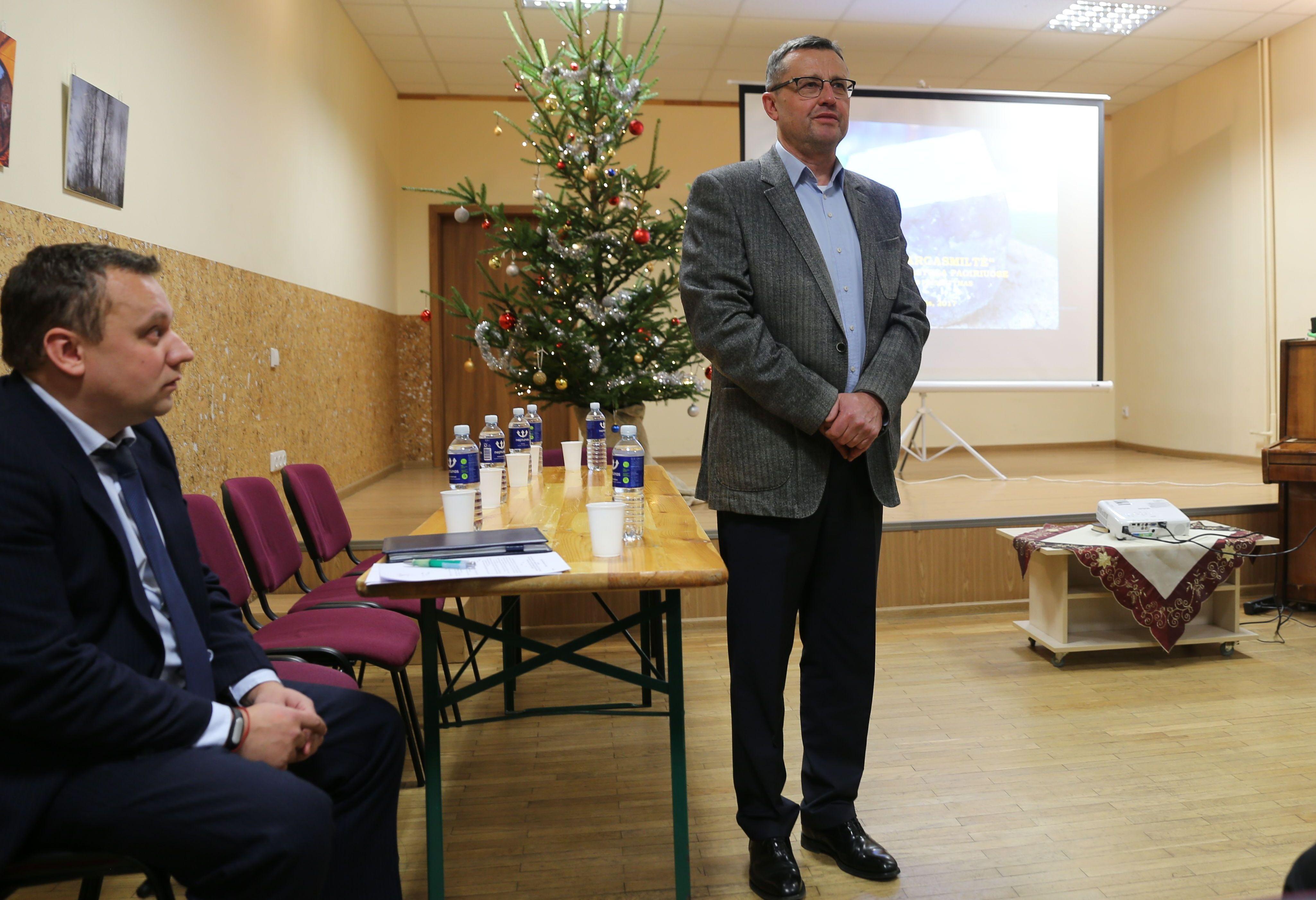 Lietuviškas marmuras bus kasamas Pagiriuose | Kauno rajono savivaldybės nuotr.