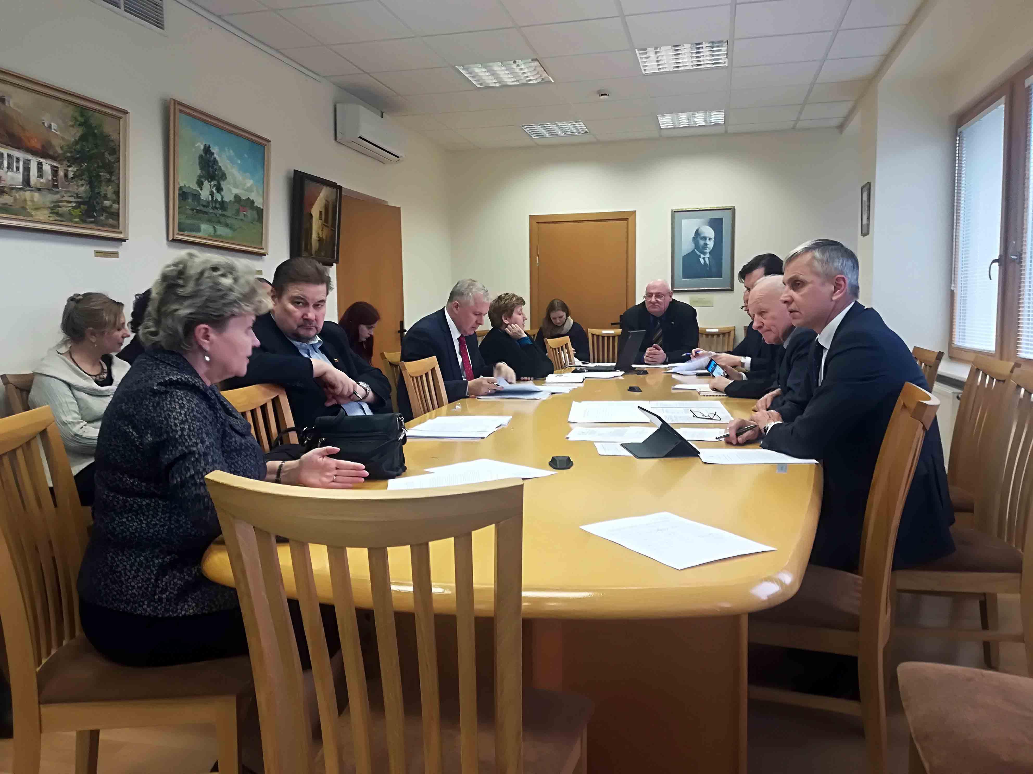 Seimo Valstybės istorinės atminties komisijos posėdis | Alkas.lt, J. Vaiškūno nuotr.