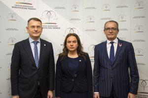 Konstituciniame Teisme lankėsi Latvijos teisingumo ministro vadovaujama delegacija   lrkt.lt nuotr.