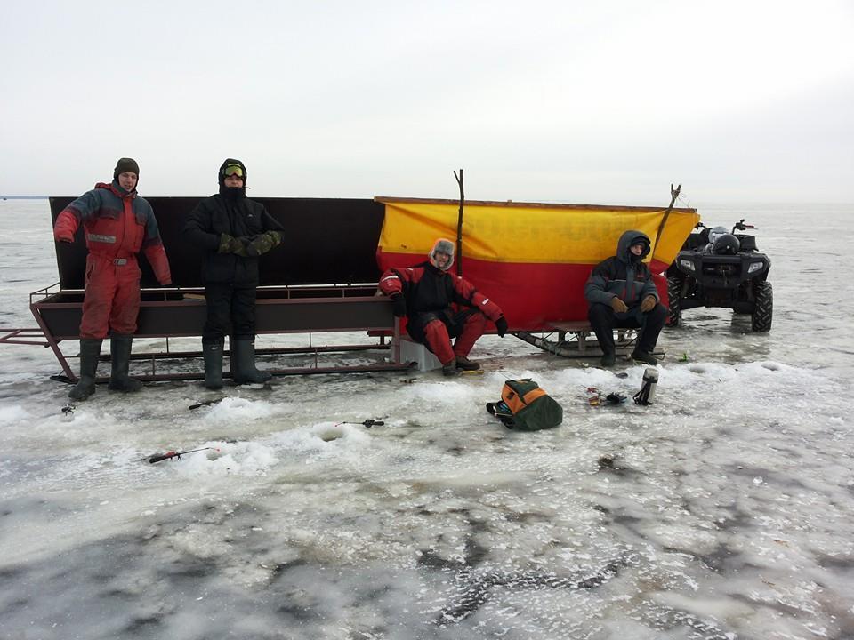 Žvejyba ant Kuršių marių Neringoje | K. Jasaitytės nuotr.