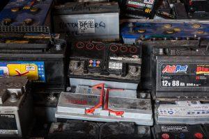 Akumuliatorių atliekos | Gamintojų ir importuotojų asociacijos nuotr.