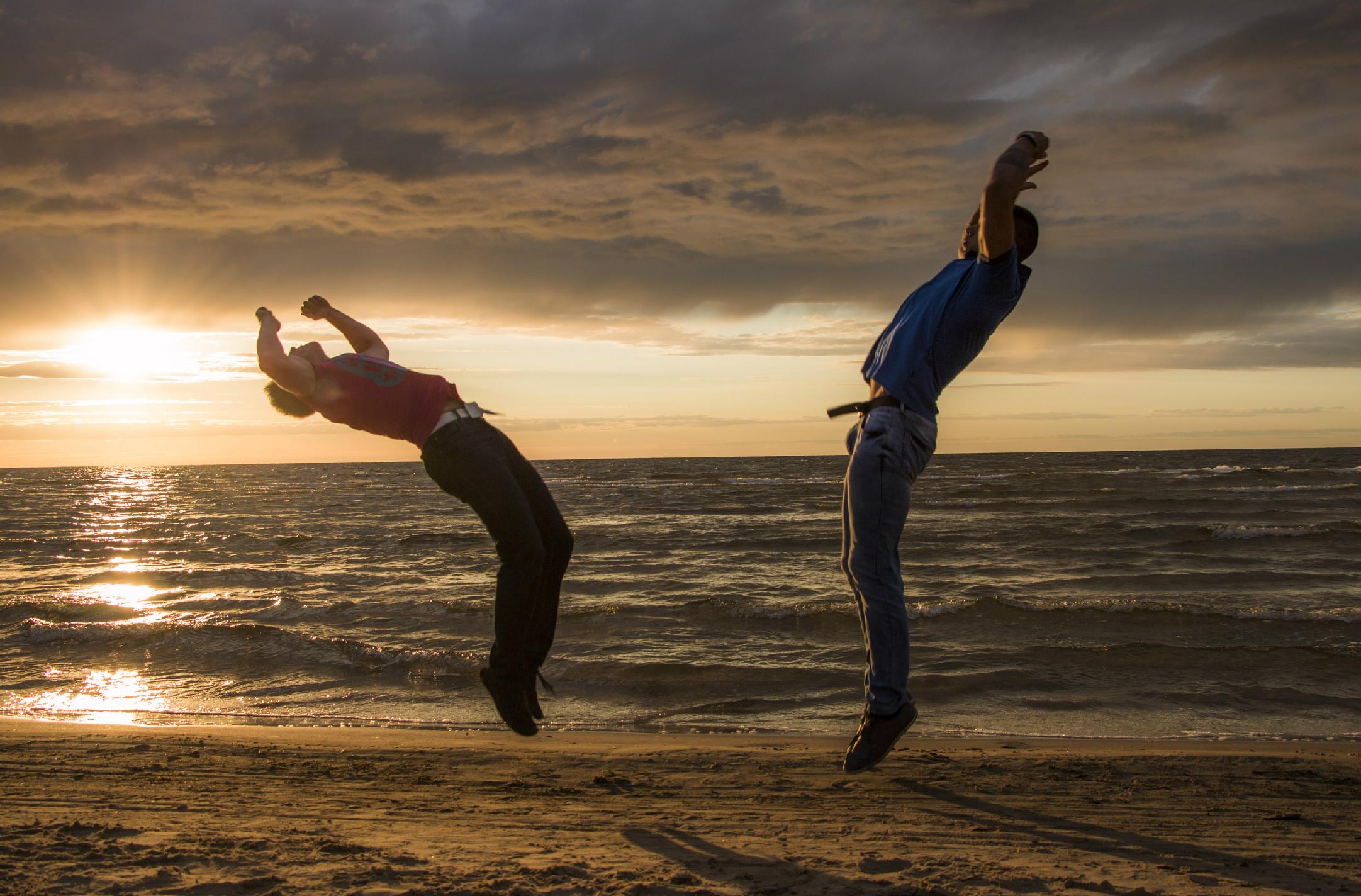 Akrobatikos asas: Kai svaigina veikla, apie alkoholį nė nepagalvoji | sveikuoliai.lt nuotr.