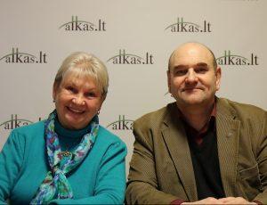 Elena Bradūnaitė-Aglinskienė ir Gerimantas Statinis | Alkas.lt nuotr.