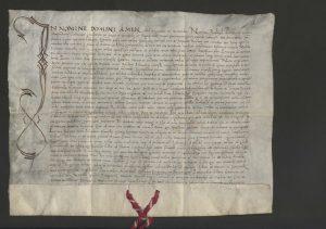 In nomine Domini amen. Goniondzas, 1519 06 16. LMAVB RS F1-64 | Lietuvos mokslų akademijos Vrublevskių bibliotekos nuotr.