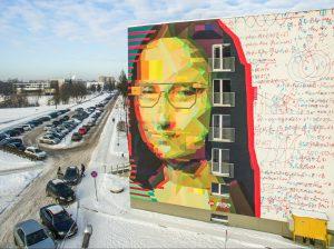 KTU Mona Liza Studentų miestelyje | KTU nuotr.