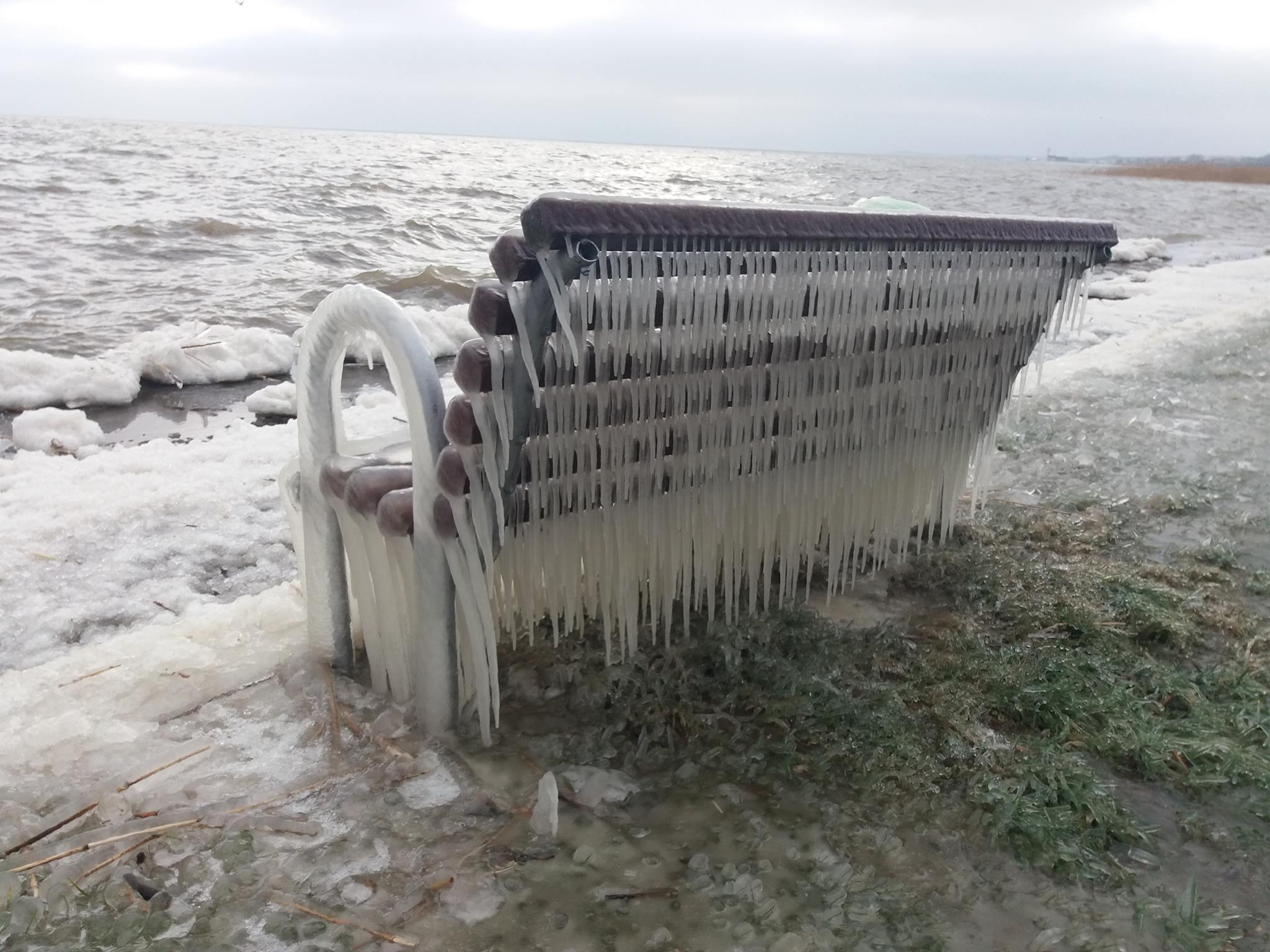 Ledo skulptūra Purvynėje | A. Stirbio nuotr.