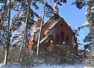 Evangelikų liuteronų bažnyčia Nidoje | Neringa.lt nuotr.