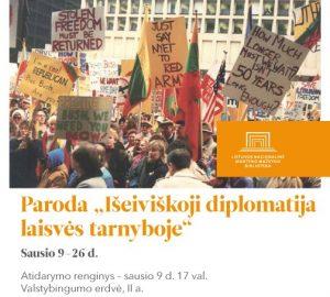 Paroda bibliotekoje_diplomatija