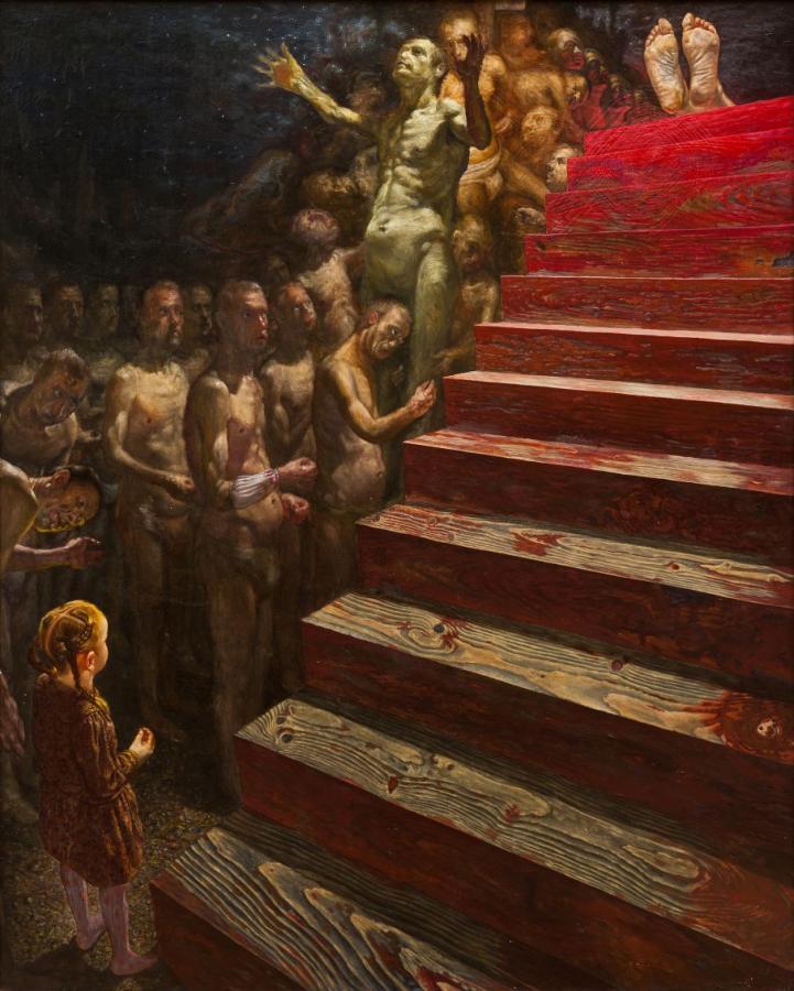 Š. Sauka. Laiptai 1989 m. | parodos rengėjų nuotr.