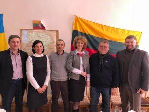 Vilma Leonavičienė su ukrainiečiais | asmeninė nuotr.