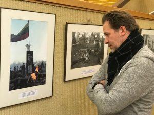 Vincas Sruoginis Parlamente | Asmeninio albumo nuotr.