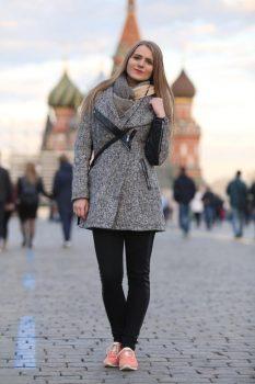 Virginija Japertaitė Maskvoje | asmen. nuotr.