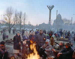 Lietuvos Aukščiausiosios Tarybo prieigos 1991 m. sausį | Archyvinės nuotr.