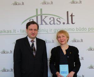 Tomas Baranauskas ir Tatjana Aleknienė   Alkas.lt. nuotr.