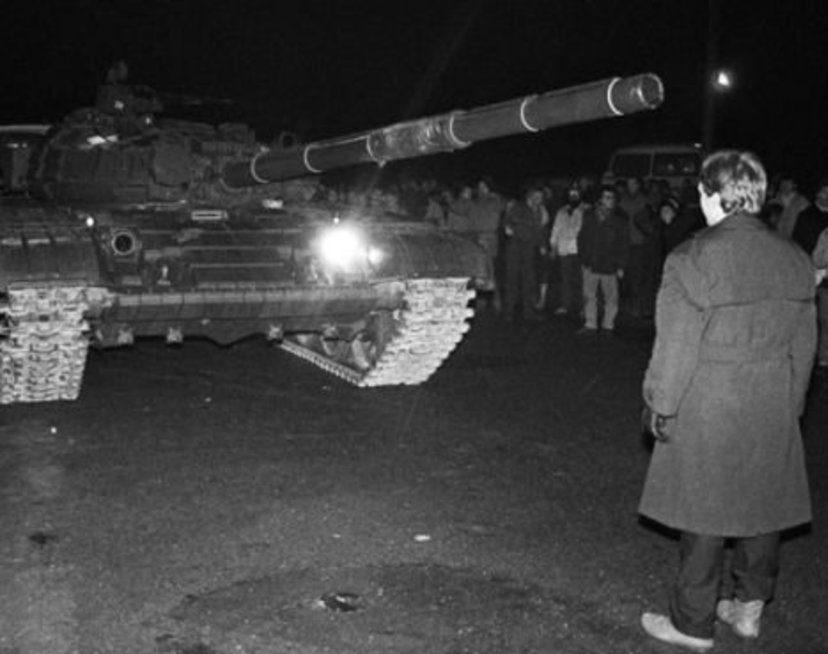 1991 m. sausio 13-oji | A. Petrulevičiaus nuotr.
