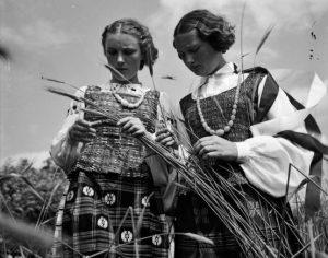 Lietuvaites 1938 m.   V. Augustinas, Lietuvos nacionalinio muziejaus nuotr.